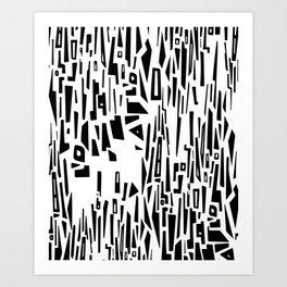 Bootleg Tetris Art Print