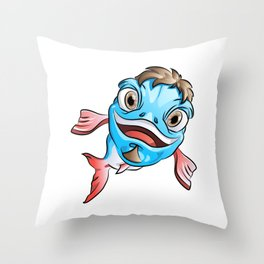 PHish the Fish Throw Pillow