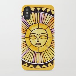 The Sun was incapable of making plans iPhone Case