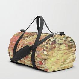 Abstract Pond Warm Duffle Bag