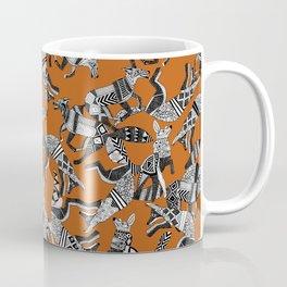 woodland fox party orange Coffee Mug