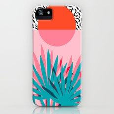 Whoa - palm sunrise southwest california palm beach sun city los angeles retro palm springs resort  iPhone (5, 5s) Slim Case