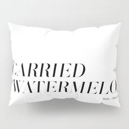 I carried a watermelon Pillow Sham