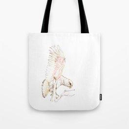 Mr Kea, New Zealand native parrot Tote Bag