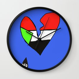 Sudan Uprising Wall Clock