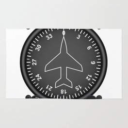Directional Gyro Flight Instruments Rug