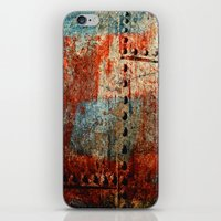 leather iPhone & iPod Skins featuring Synthetic Leather by Fernando Vieira