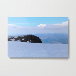 Summit of Ben Nevis Metal Print