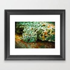 upper crust II Framed Art Print