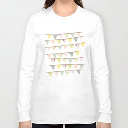bunting fun Long Sleeve T-shirt