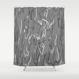 Poteki Shower Curtain