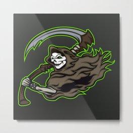 grim reaper ,grim reaper tattoos Metal Print