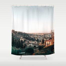 Florence Skyline Shower Curtain