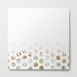 Flowerly Metal Print