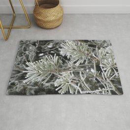 Frosted pine Rug
