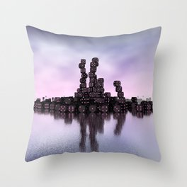 it's not Domino-day today Throw Pillow