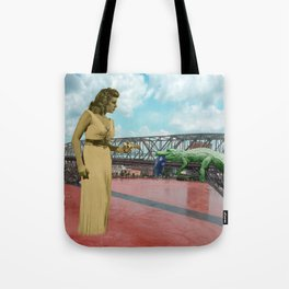 tx bridge holdenm Tote Bag