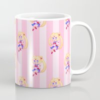 sailor moon Mugs featuring Sailor Moon by spookzilla
