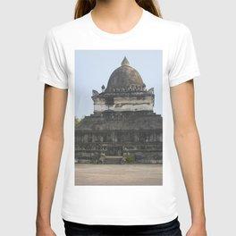 Buddhist temple Wat Visun, Luang Prabang, Laos T-shirt