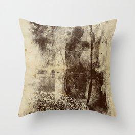 paleo warrior Throw Pillow