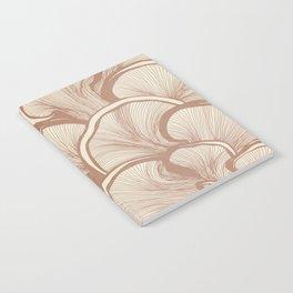 Mushrooms in Copper Notebook