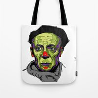 picasso Tote Bags featuring P. Picasso by philip painter