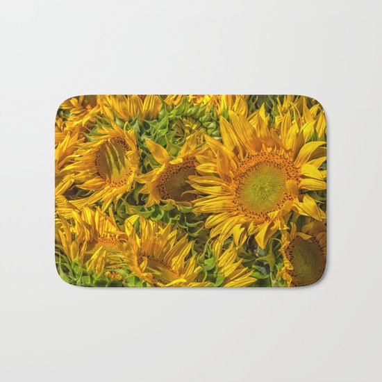 Sun worshipers Bath Mat