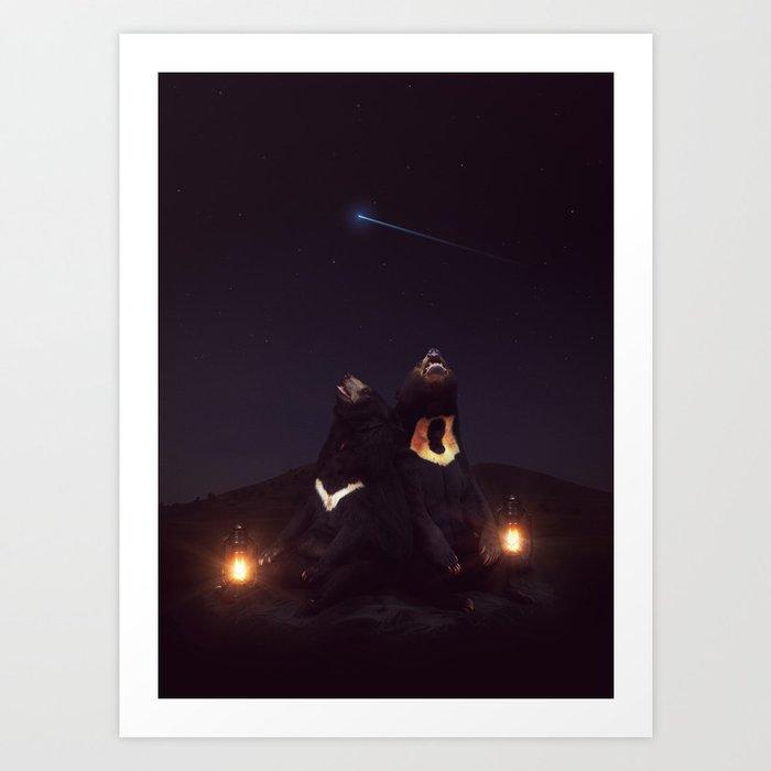 my sun, my moon, and all my stars Kunstdrucke