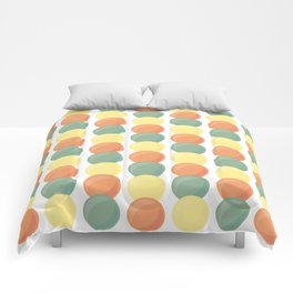 Sweet Marbles - Muted Comforters