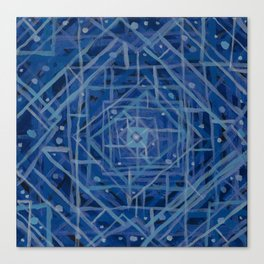 Blue Room Canvas Print