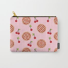Pies trendy food fight apparel and gifts pink Carry-All Pouch