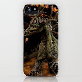 The Autumn Tree Dragon iPhone Case