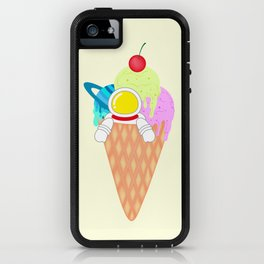 Space Odyssey Ice Cream | Astronaut Ice Cream | Space Ice Cream | Galaxy Ice Cream | pulps of wood iPhone Case