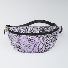 Snake Skin Watercolor Purple Fanny Pack