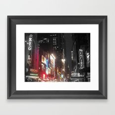 Night Life Framed Art Print
