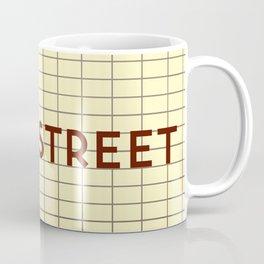 MAIN STREET   Subway Station Coffee Mug
