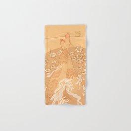 Flower Bath 10 (uncensored version) Hand & Bath Towel