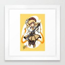 PMMM: Mami Tomoe Framed Art Print