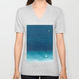 Big Dipper constellation Unisex V-Neck