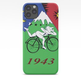 Bicycle Day 1943 Albert Hofmann LSD iPhone Case