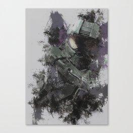 master chief Canvas Print