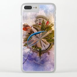 Riverside World Clear iPhone Case
