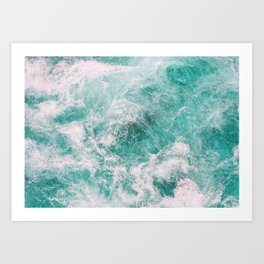 Whitewater 4 Art Print