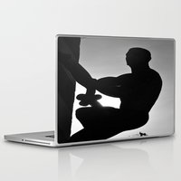 crossfit Laptop & iPad Skins featuring Climb by SalAnthony