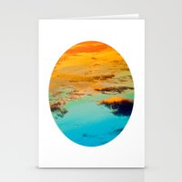 swim Stationery Cards featuring Swim by Rick Staggs