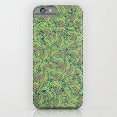 Plenty of Bananas - Green iPhone 6s Slim Case