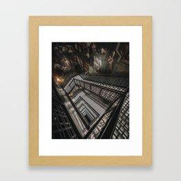 A&F Staircase Framed Art Print