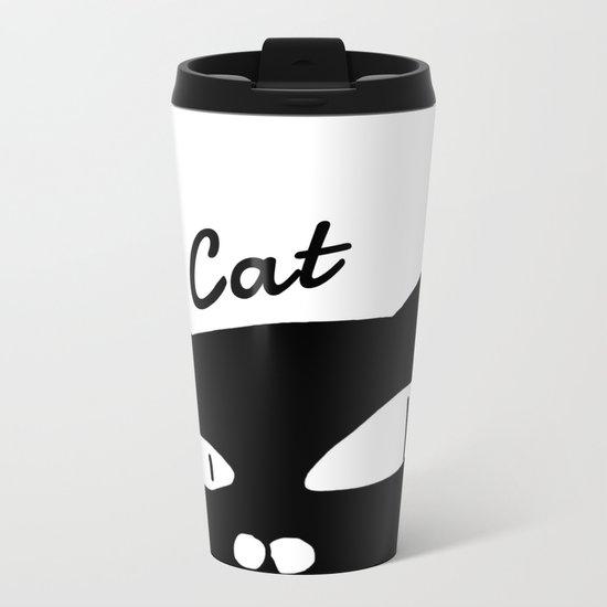 cat-351 Metal Travel Mug