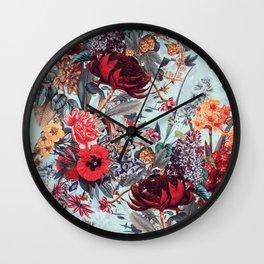Romantic Garden VI Wall Clock
