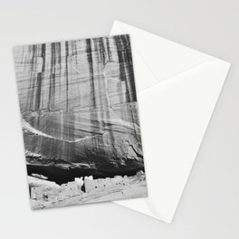 White House Ruins in Black & White Stationery Cards
